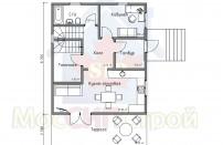 Проект дома из СИП панелей Марсель - МосСипСтрой (изображение 2)