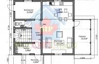 Проект дома из СИП панелей Вилли - МосСипСтрой (изображение 2)
