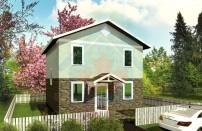 Проект дома из СИП панелей Эконом - МосСипСтрой (изображение 2)