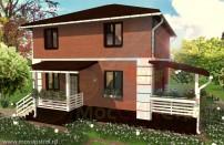 Проект дома из СИП панелей Вилли - МосСипСтрой (изображение 1)