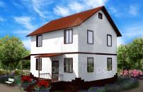 Проект дома из СИП панелей Марсель - МосСипСтрой (изображение 4)
