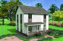 Проект дома из СИП панелей Винево - МосСипСтрой (изображение 1)