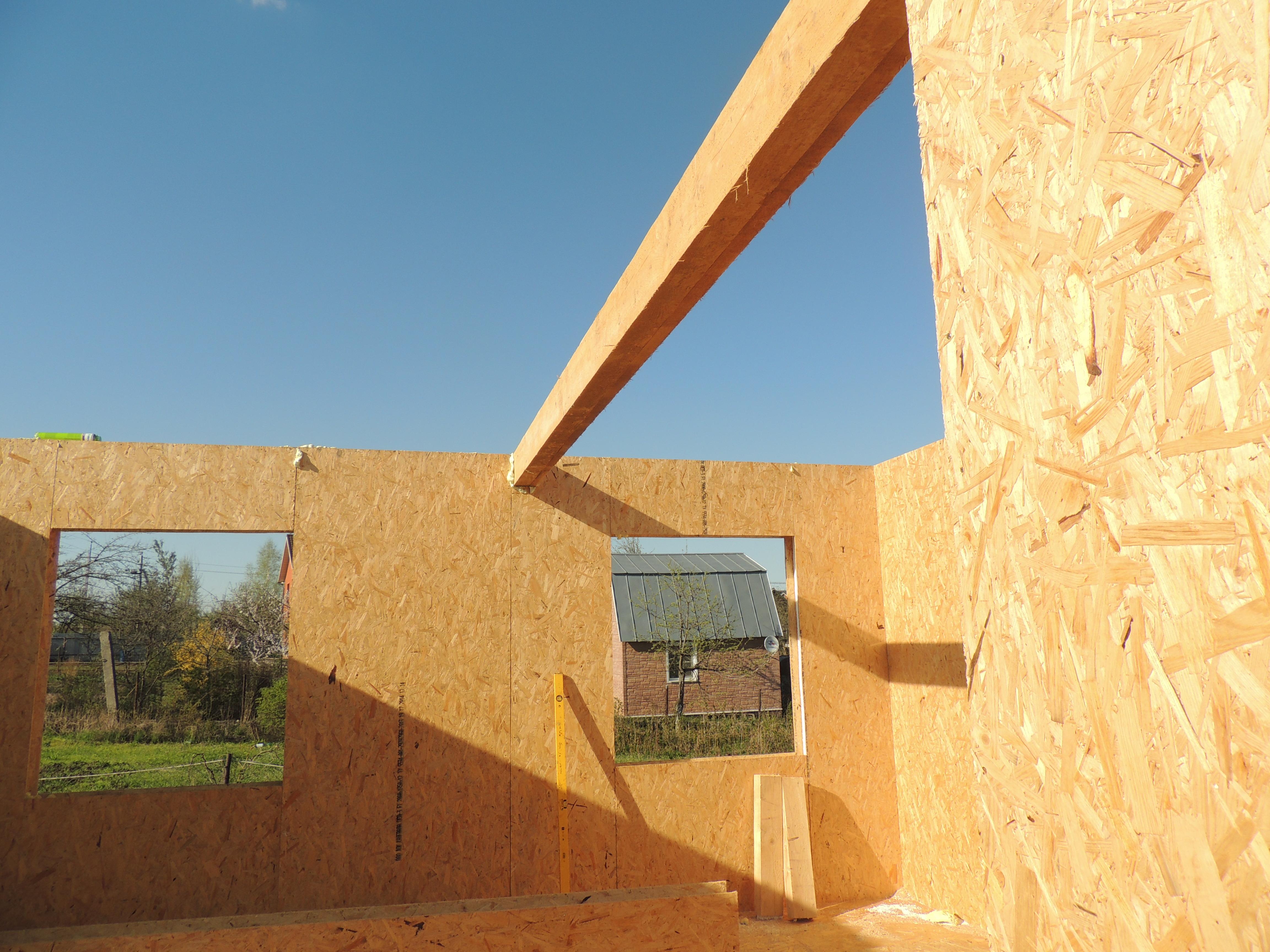 Фотогалерея SIP домов, построенных своими руками 86
