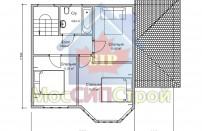 Проект дома из СИП панелей Брук - МосСипСтрой (изображение 2)