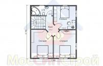 Проект дома из СИП панелей Марсель - МосСипСтрой (изображение 3)