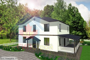 Проект дома из СИП панелей Браво - МосСипСтрой