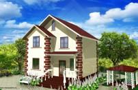 Проект дома из СИП панелей Гранд - МосСипСтрой (изображение 1)
