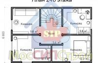 Проект дома из СИП панелей Винево - МосСипСтрой (изображение 3)