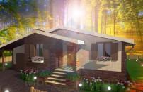 Проект дома из СИП панелей Лесной - МосСипСтрой (изображение 2)