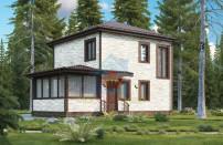 Проект дома из СИП панелей Брук - МосСипСтрой (изображение 4)