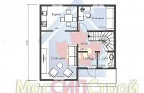 Проект дома из СИП панелей Фахверк - МосСипСтрой (изображение 2)