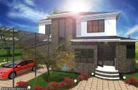 Проект дома из СИП панелей Македония - МосСипСтрой (изображение 1)