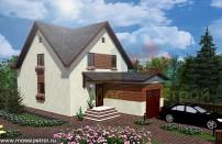Проект дома из СИП панелей Эльбрук - МосСипСтрой (изображение 1)
