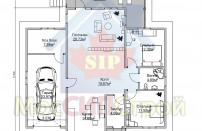 Проект дома из СИП панелей Лесной - МосСипСтрой (изображение 3)