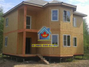 Дом из сип панелей Лирика