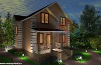 Проект дома из СИП панелей Цок - МосСипСтрой (изображение 1)