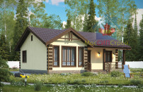 Проект дома из СИП панелей Лужок - МосСипСтрой (изображение 1)