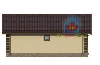 Проект дома из СИП панелей Лужок - МосСипСтрой (изображение 3)