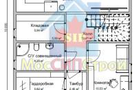 Проект дома из СИП панелей Елена - МосСипСтрой (изображение 6)