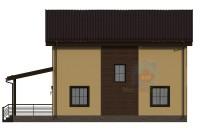 Проект дома из СИП панелей Елена - МосСипСтрой (изображение 4)