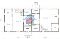 Проект дома из СИП панелей Дуплекс-1 и Дуплекс-2 - МосСипСтрой (изображение 3)
