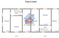 Проект дома из СИП панелей Дуплекс-1 и Дуплекс-2 - МосСипСтрой (изображение 4)
