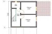 Проект дома из СИП панелей Муза - МосСипСтрой (изображение 3)
