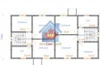 Проект дома из СИП панелей Дуплекс-1 и Дуплекс-2 - МосСипСтрой (изображение 2)