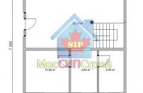 Проект дома из СИП панелей Подольск  - МосСипСтрой (изображение 1)