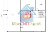 Проект дома из СИП панелей Чехов - МосСипСтрой (изображение 6)