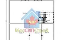 Проект дома из СИП панелей Подольск - МосСипСтрой (изображение 2)