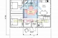 Проект дома из СИП панелей Экодом - МосСипСтрой (изображение 2)