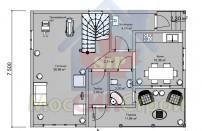Проект дома из СИП панелей Бриз - МосСипСтрой (изображение 2)