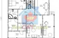 Проект дома из СИП панелей Альтенбург - МосСипСтрой (изображение 2)
