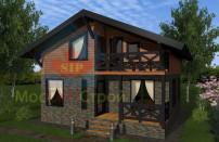 Проект дома из СИП панелей Глория - МосСипСтрой (изображение 5)