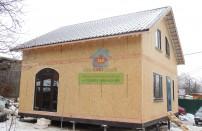 Проект дома из СИП панелей Подольск  - МосСипСтрой (изображение 18)