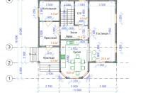 Проект дома из СИП панелей Лирика - МосСипСтрой (изображение 2)