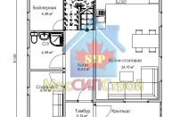 Проект дома из СИП панелей Глория - МосСипСтрой (изображение 1)