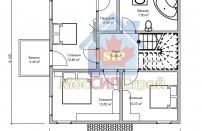 Проект дома из СИП панелей Империя - МосСипСтрой (изображение 3)