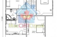 Проект дома из СИП панелей Альтенбург - МосСипСтрой (изображение 3)
