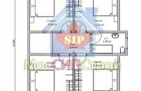 Проект дома из СИП панелей Руно - МосСипСтрой (изображение 3)