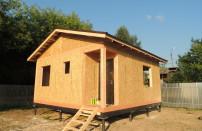 Проект дома из СИП панелей Шарапово - МосСипСтрой (изображение 7)
