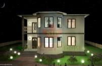 Проект дома из СИП панелей Лирика - МосСипСтрой (изображение 1)