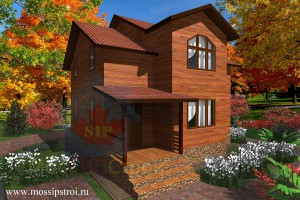 Проект дома из сип панелей Дубовик
