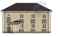 Проект дома из СИП панелей Дуплекс №1 на 2 семьи - МосСипСтрой (изображение 2)
