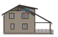 Проект дома из СИП панелей Чехов - МосСипСтрой (изображение 4)