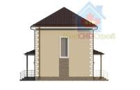 Проект дома из СИП панелей Дуплекс №1 на 2 семьи - МосСипСтрой (изображение 4)