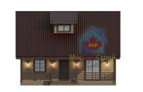 Проект дома из СИП панелей Чехов - МосСипСтрой (изображение 2)