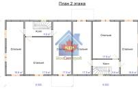 Проект дома из СИП панелей Дуплекс №2 на 2 семьи - МосСипСтрой (изображение 6)