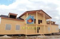 Проект дома из СИП панелей Дом-гостиница - МосСипСтрой (изображение 19)